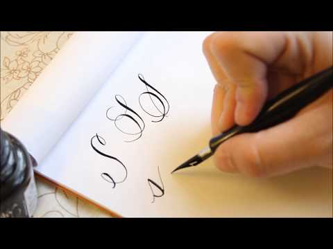 The Letter S | Basic Calligraphy Tutorial