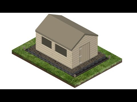How to Install a Plastic Shed Base