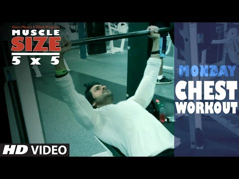 Monday : CHEST WORKOUT |