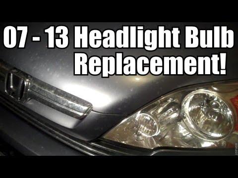 2007 - 2014 Honda CR-V Headlight Bulb Replacement
