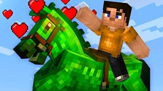 TAMING THE STRONGEST HORSE IN MINECRAFT! (Minecraft #9)