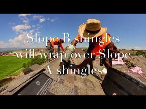 How to install ridge cap shingles