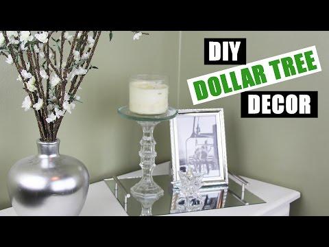 DOLLAR TREE DIY Room Decor | Dollar Store DIY Candle Holder | Dollar Store DIY Candle Stand