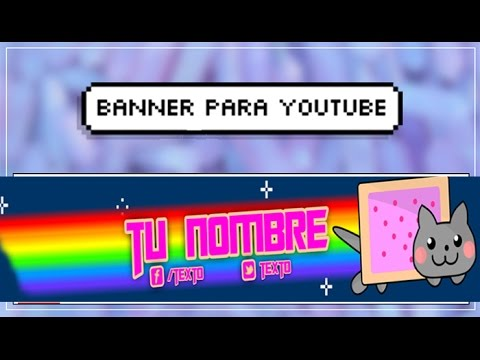 Banner para YouTube | Nyan Cat | 1#