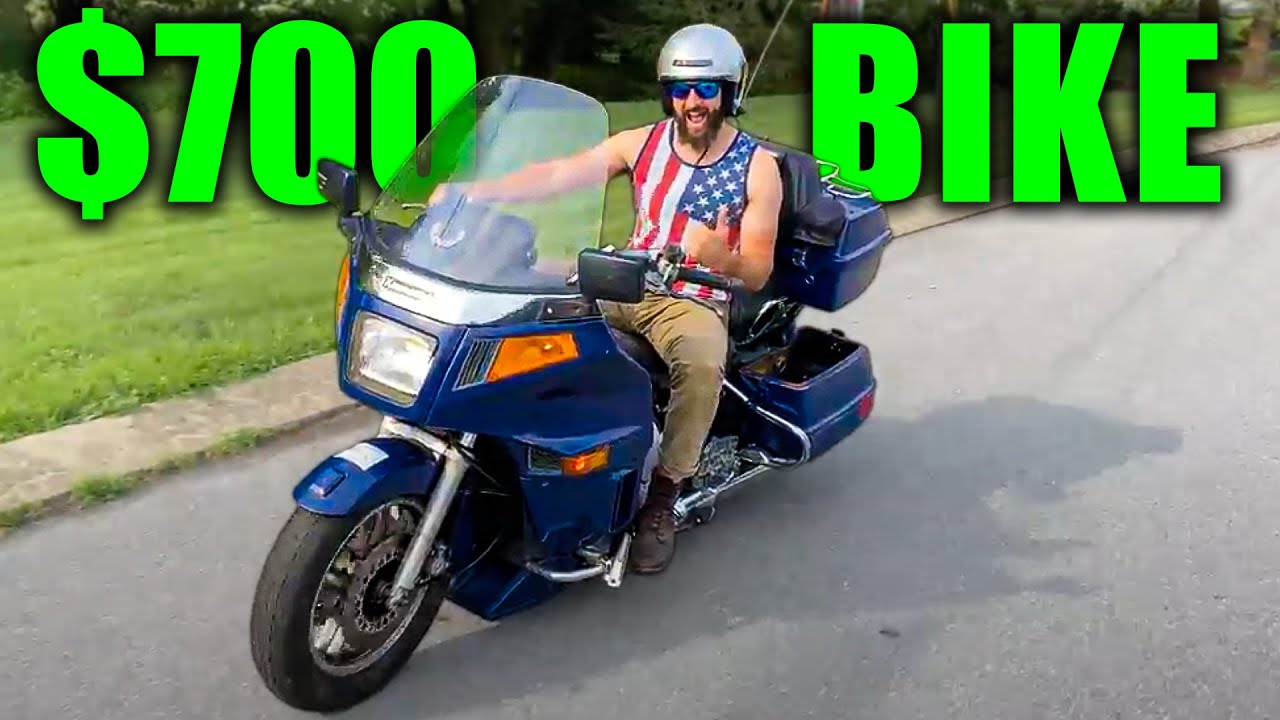 Buying a $700 Auction Bike, Fixed it in 30 minutes