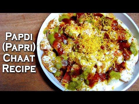 Papdi Chaat Recipe by Sonia Goyal @ ekunji.com