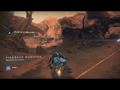 Destiny How to get to Rubicon Firebase from the Barrens on Mars