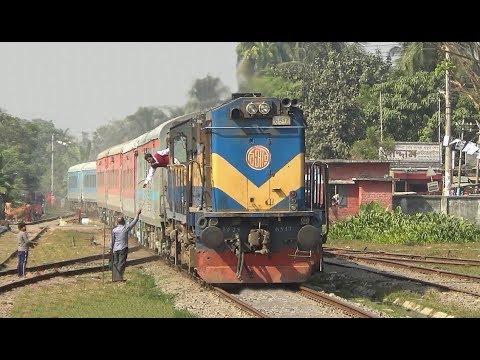 Xxx Mp4 Indian Railways Bandhan Express Train Passing Jessore Jn Railway Station Of Bangladesh Railway 3gp Sex