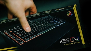 Corsair K55 RGB Keyboard (REVIEW + SOUND TEST) - PakVim net