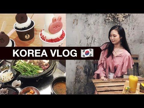 KOREA VLOG 2017 | Shopping @ Hongdae, Gangnam, Myeongdong, SM Cafe, and MORE!