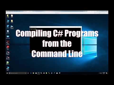 Compiling C# Programs From The Command Line