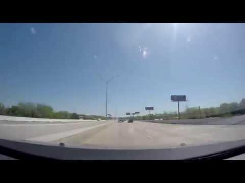 TimeLapse - New Orleans LA to Houston TX