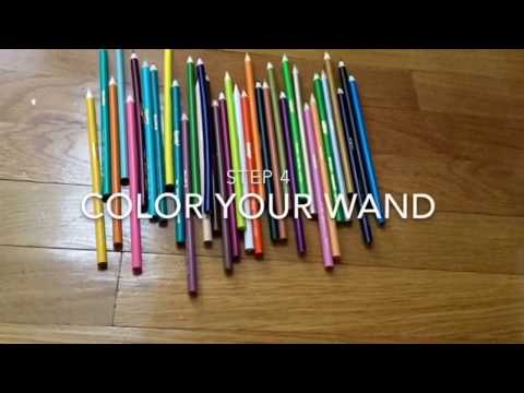 DIY Harry Potter Wand/pixelpandas.org