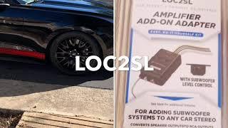 hook up car amp without rca jacks