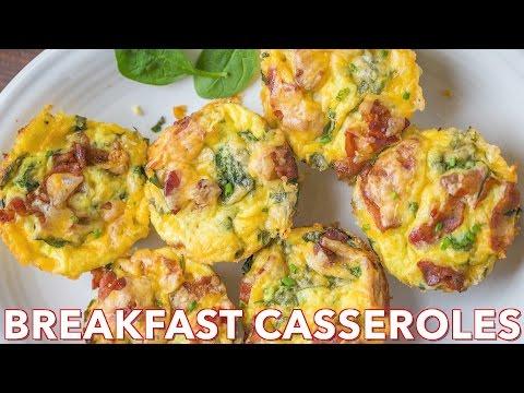 Holiday Breakfast: Breakfast Casserole Bites - Natasha's Kitchen