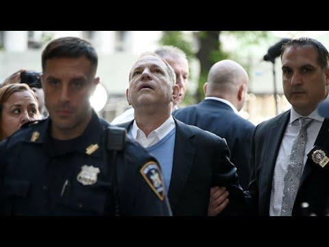 Movie mogul Weinstein bail set at $1 million cash, with GPS monitor