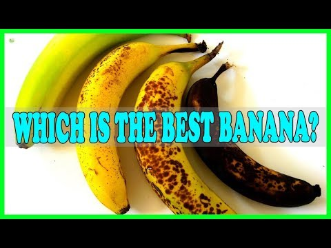Which Is The Best Banana? Doctors Say It's Not The One You Usually Choose | Best Home Remedies