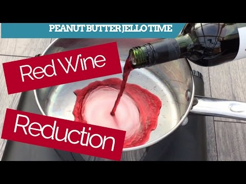 PBJT Red wine reduction