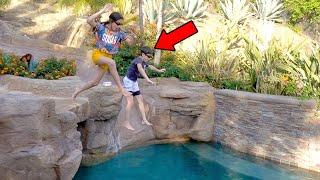 POOL JUMP GONE WRONG!!!  | Txunamy