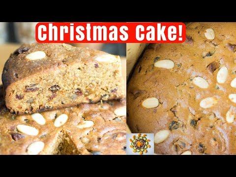 How To Make Traditional Christmas Cake | Christmas Cake Step By Step | Fruit Cake Recipe