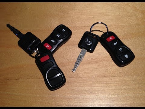 350Z Key Fob Battery Replacement and Key Fob Programming