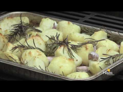 Roast Potatoes on a Weber Genesis II LX BBQ
