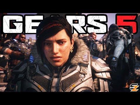 Gears of War 5 E3 2018 - Cinematic Official Gameplay Trailer! (Gears of War 5 E3 2018)