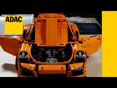 LEGO Porsche Crashtest I ADAC 2017