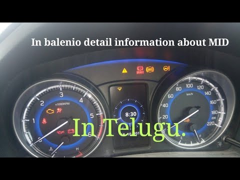 Baleno Mid features in telugu.