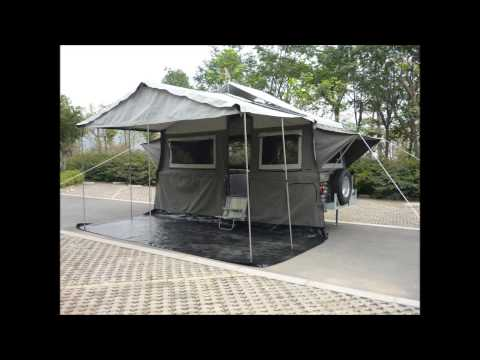 Automatic Set Up Front Forward Hard Floor Camper Trailer Full Aluminium Body