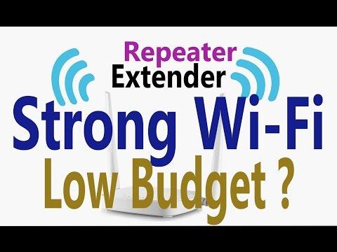 How to setup a Wireless Repeater | WiFi Range Extender | Tenda N301 |  Hindi