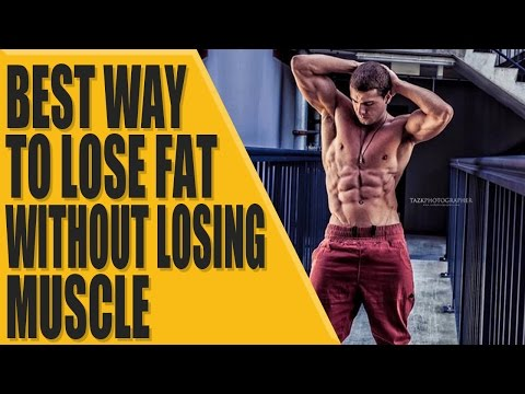 Best way to lose fat without losing muscle?