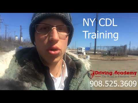 New York CDL Training - CDL Class A & B with Driving Academy