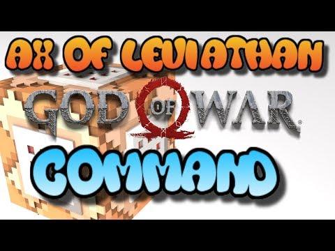 Minecraft Command Block Tutorial AX Of Leviathan Bedrock Edition (Xbox One,Mcpe,Windows10)