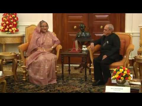 Prime Minister of Bangladesh call on the President - 09-04-17