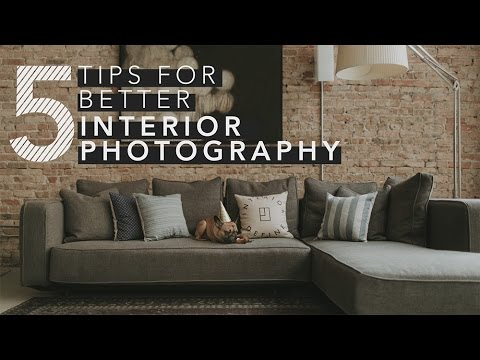 5 Tips For Shooting Interior Photography
