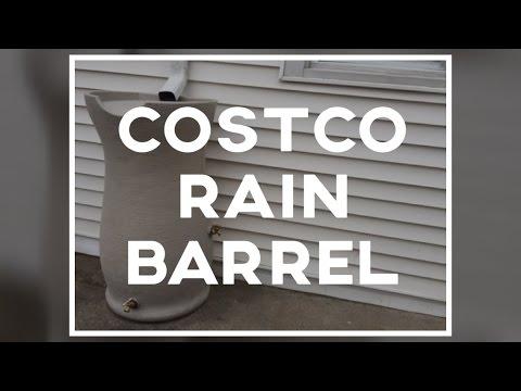 Costco Rain Barrel Review and Installation