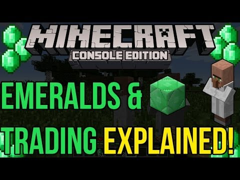Minecraft Xbox & PS3: Emeralds & Trading Explained! | CONFIRMED in TU14