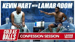 Kevin Hart Takes Lamar Odom To A Happy Place That