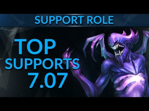 BEST Support Heroes in Patch 7.07 | Dota 2 Guide