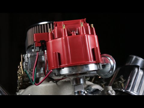 Speedway Blueprinted Chevy HEI Distributor