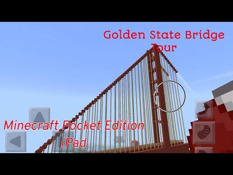 Golden Gate Bridge in Minecraft