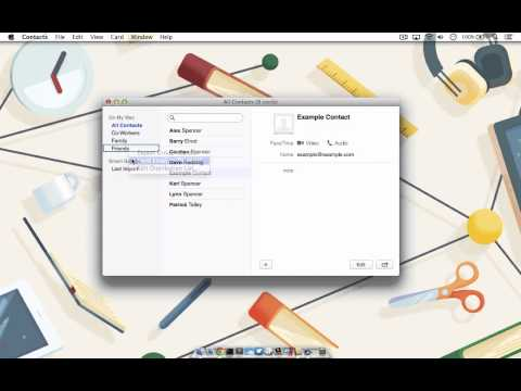 Create, Manage and Send Group Emails on a Mac