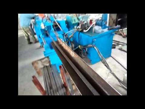 flat bar finishing and cut to length machine