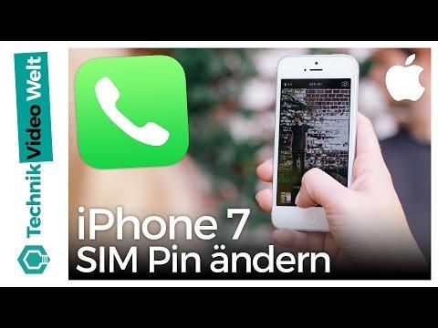iPhone 7 SIM Pin ändern und deaktivieren