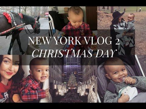 NEW YORK VLOG 2 | CHRISTMAS DAY!