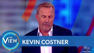 Kevin Costner Talks Immigration Crisis At Border,  New TV Series