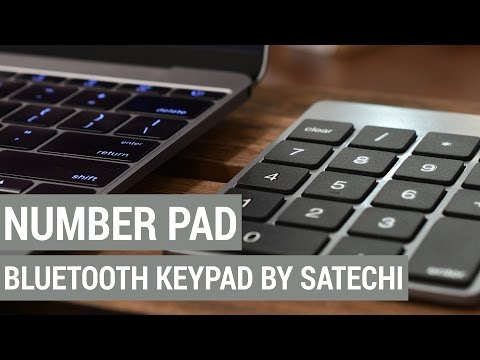 Enter Numbers Easier with the Bluetooth Numeric Keypad from Satechi