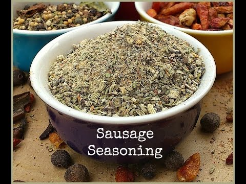 How to Make Sausage Seasoning - Perfect For Homemade Sausages and Burgers