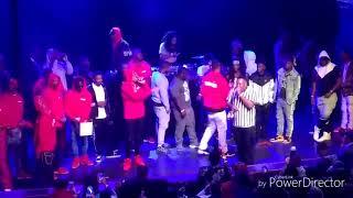 RJ vs 03 Greedo... 👊fight in crowd 🤕